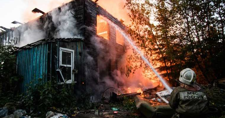 четверо детей один взрослый погибли в Иркутской области пожар