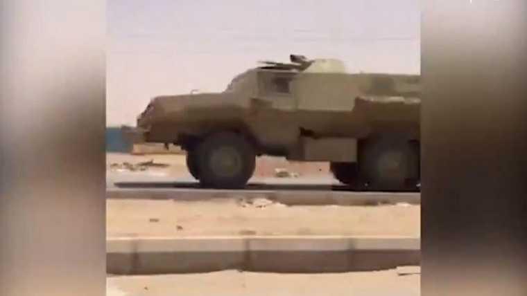 Запечатлен выход ЧВК Вагнера с места боев в Ливии. ФОТО, ВИДЕО