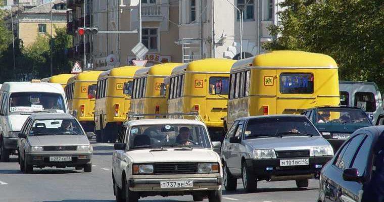 Екатеринбург колонна автобусов дет ДТП