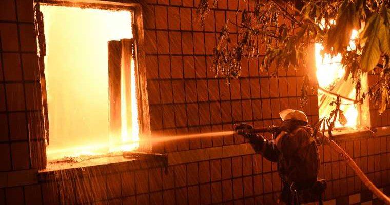 пожар в Екатеринбурге Челюскинцев