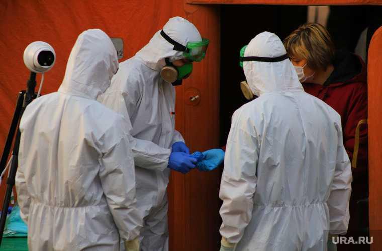 ЯНАО коронавирус работа инфекционных госпиталей