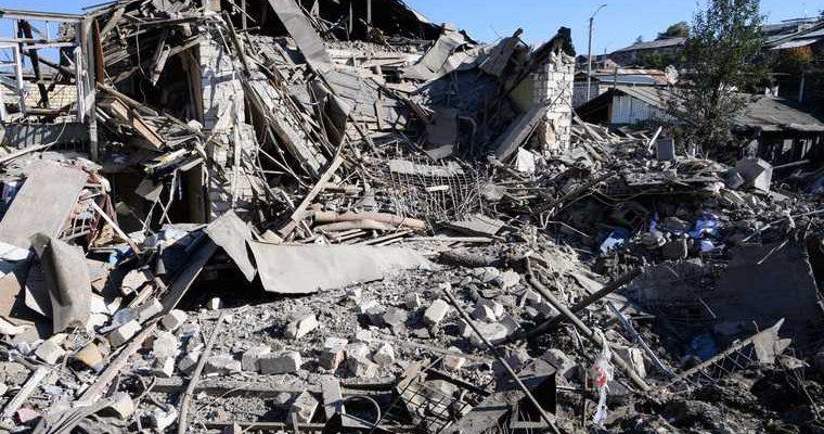 Нагорный Карабах конфликт обстрел фото