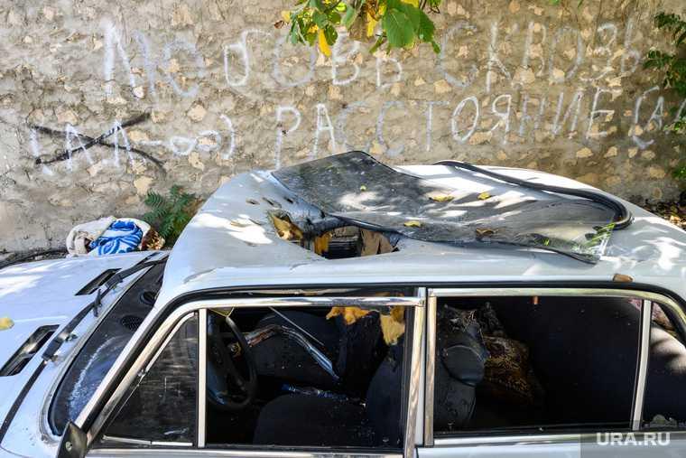 Деревня Кармир Шука после обстрела ВС Азербайджана. Нагорный Карабах