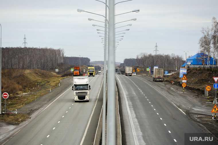 Челябинск Екатеринбург М5 ремонт