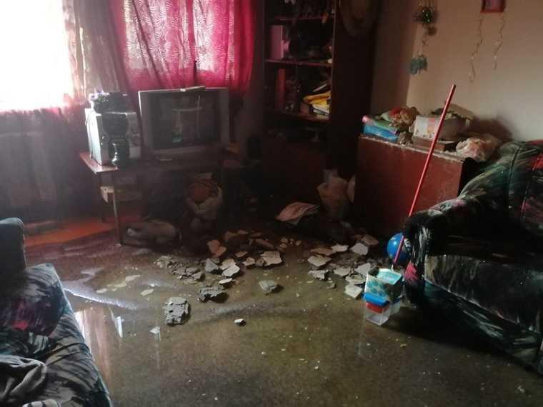 Челябинск Тефтелев дом затопило видео