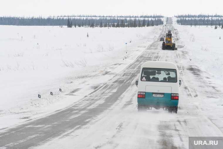 дорога Лабытнанги Харп закрыли на реконструкцию