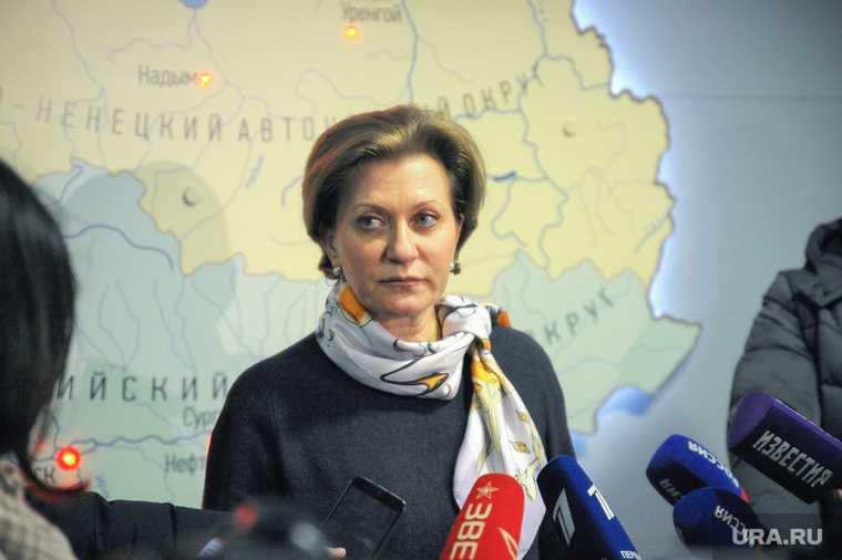 коронавирус Анна Попова ситуация напряженная