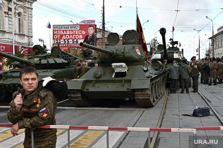 День танкиста в Нижнем Тагиле. Екатеринбург