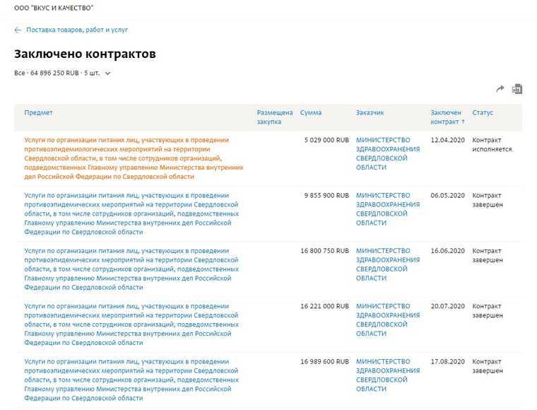 Два свердловских бизнесмена заработали на COVID 160 млн рублей