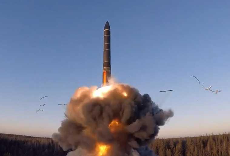 тренировка Минобороны баллистические ракеты