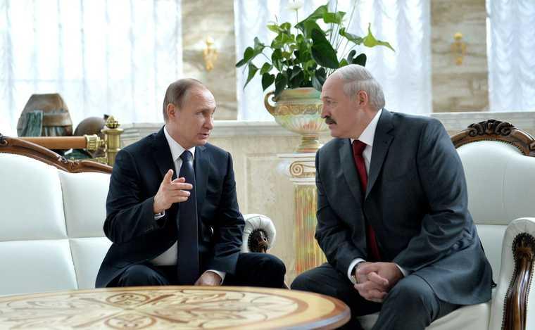 переговоры Путина и Лукашенко