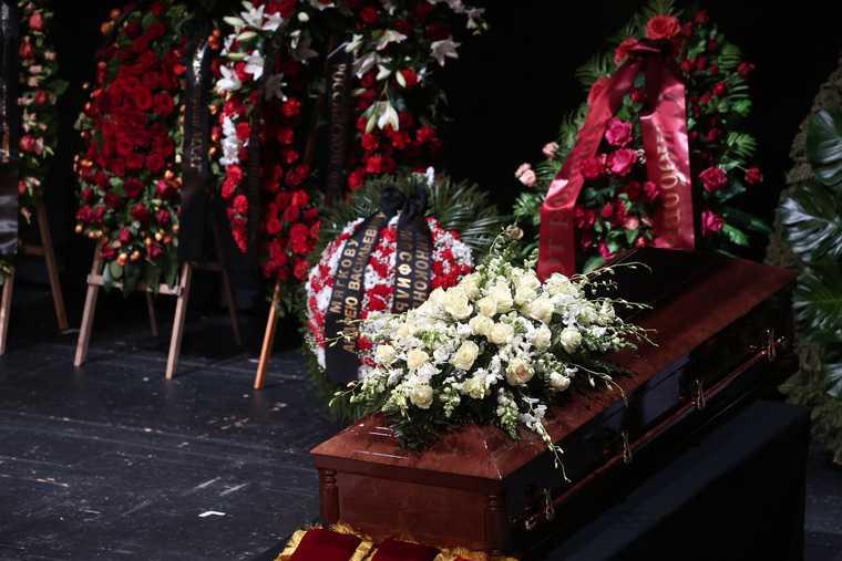 МХАТ похороны