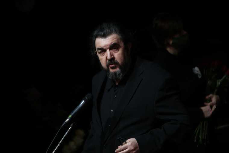 В Москве началось прощание с Андреем Мягковым. Фото