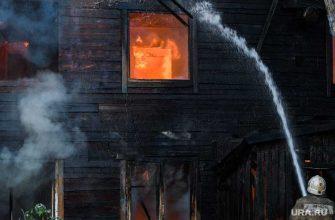 В тюмени при пожаре погиб трехлетний ребенок