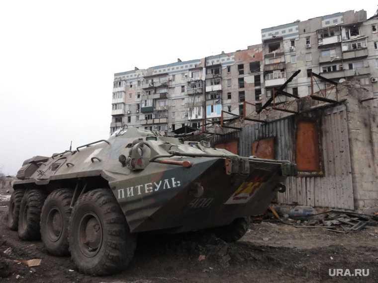 разведка на Донбассе