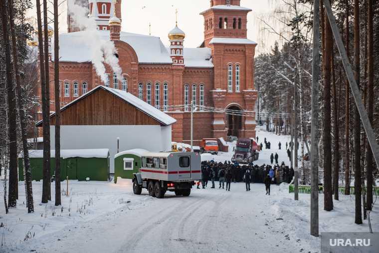 Среднеуральский монастырь отец Сергий имущество