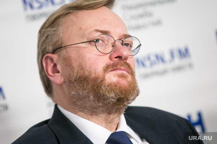 Владимир Жириновоский Виталий Милонов ЛДПР Единая Россия