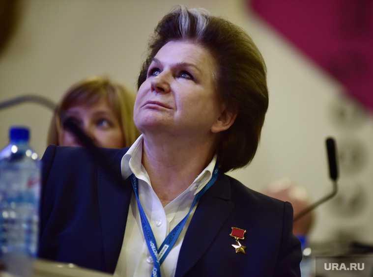 Терешкова пойдет в Госдуму РФ