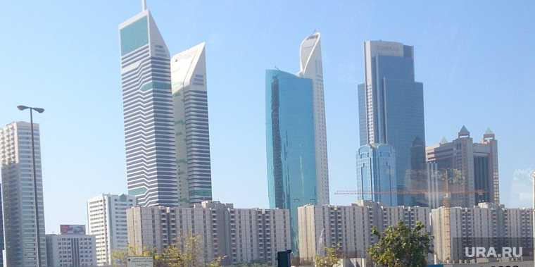 задержание Дубай