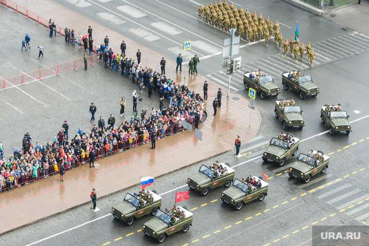 Парад победы Екатеринбург репетиция днем