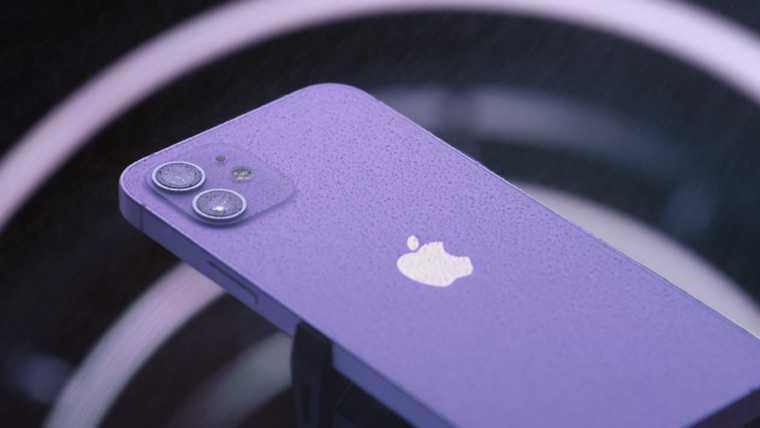 Apple презентовала новый IPhone в необычном цвете. Скрин