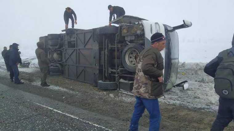 вахтовики авария ХМАО