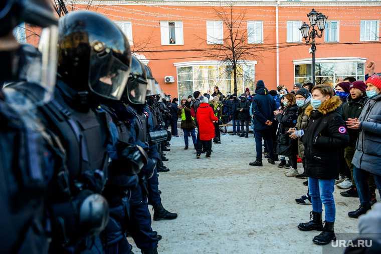 прогноз число участников митинг Навальный
