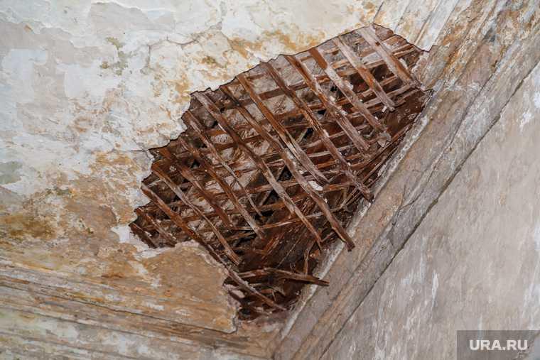 Березники рухнул потолок