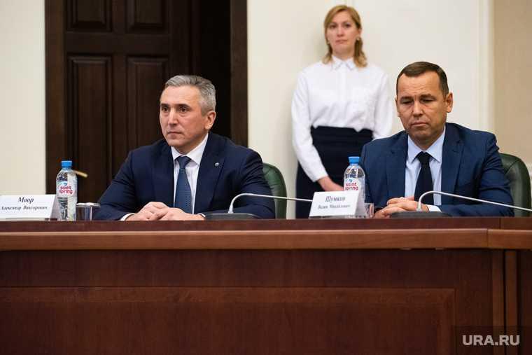 губернатор Тюменской области Вадим Шумков