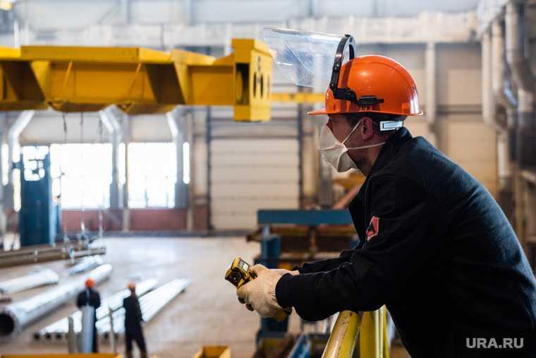 Запуск цеха горячего цинкования на Уральском заводе многограннных опор. Свердловская область, Полевской