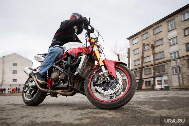 в Тюмени мотоциклисты шумят по ночам