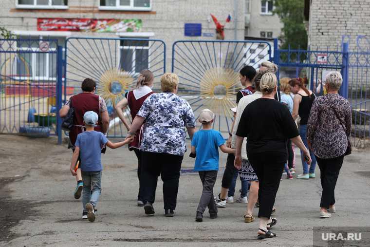 детский сад эвакуация