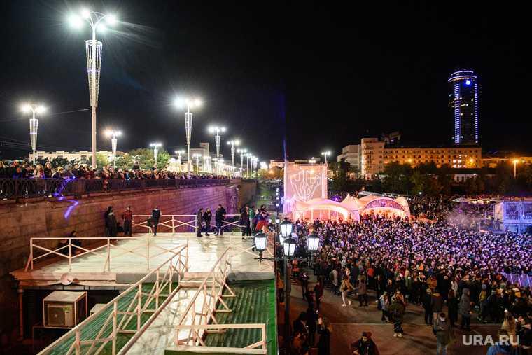 Группа The Hatters на Ural Music Night. Екатеринбург