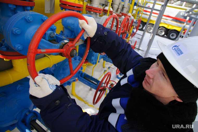 Единяя Россия газ